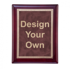 "Rosewood and Ruby 8"" x 10"" Wall Plaque"