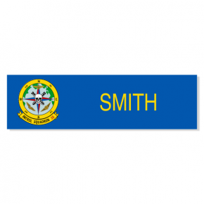PATROL SQUADRON 26 - Blue Name Tag
