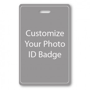 Vertical ID Card - Single Sided