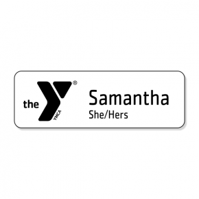 YMCA of the Greater Twin Cities - 2 Line Name Tag