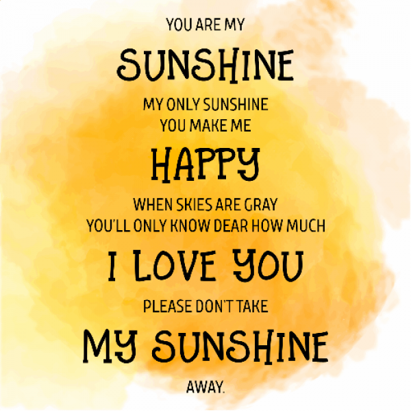 You Are My Sunshine Motivational Sign Hc Brands