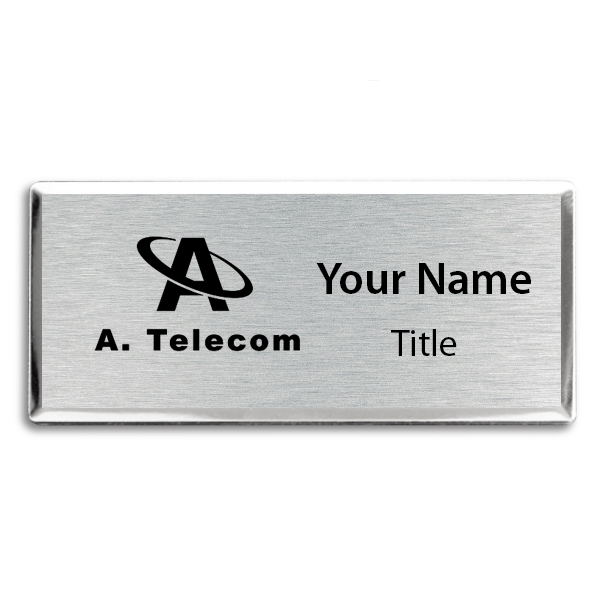 Engraved Executive Beveled Badges