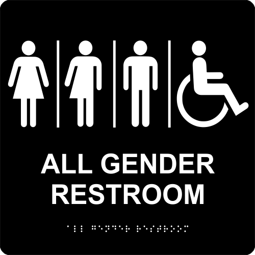 All Gender Restroom ADA Sign