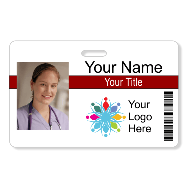 Photo ID Badge - Style104