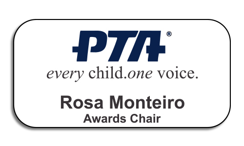 PTA Large Color Name Tag
