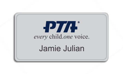 PTA Premier Color Name Tag