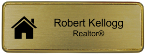 Real Estate Name Tag