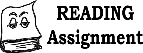 Reading Assignment Self-Inking Teacher Stamp