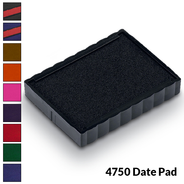 Trodat 4750 - Ink Pad for Medium Custom Date Stamp