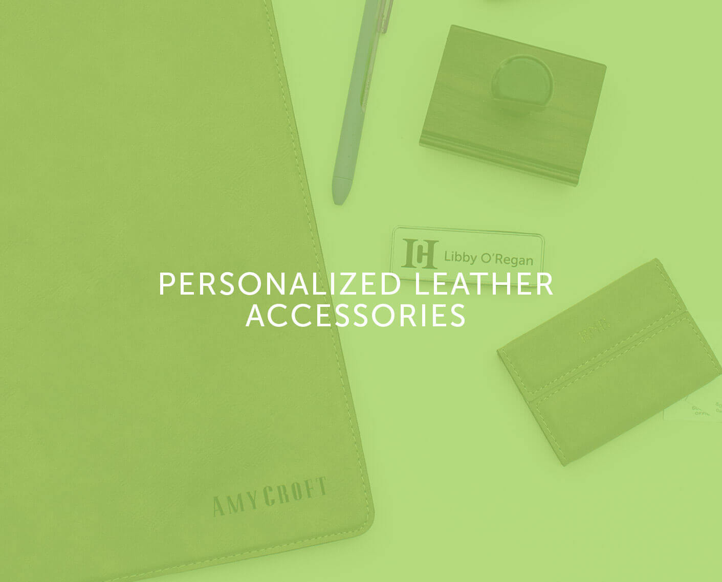 Personalized Leather Accessories