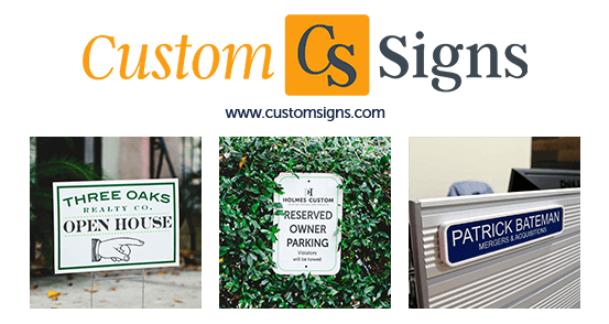 Custom Signs Logo