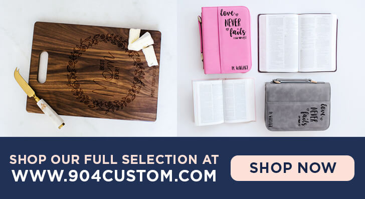 Personalized Gifts from 904 Custom