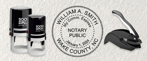 Notary Stamps and Embosser