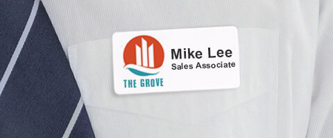 Full Color Name Tag
