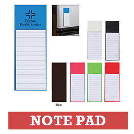 Colorful Notepads with Logo