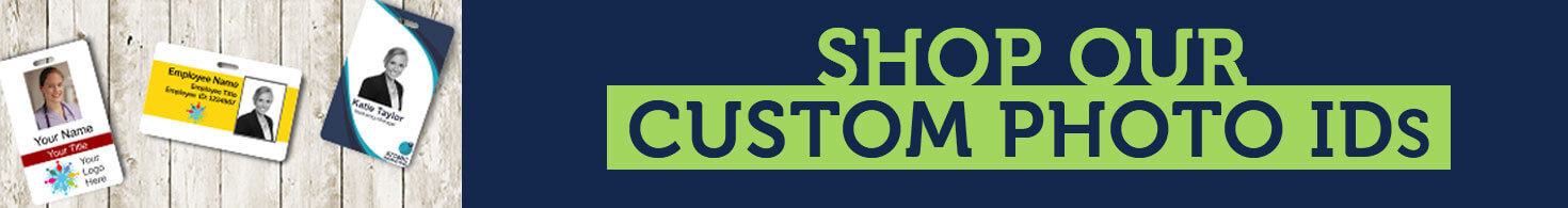 Shop Custom Photo IDs with HC Brands Banner
