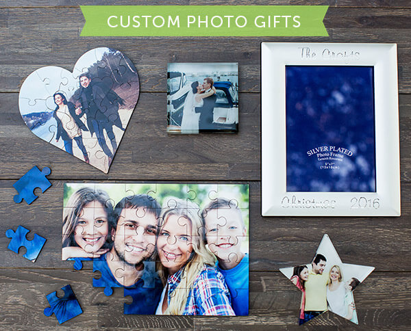 Dozens of Custom Photo Gifts