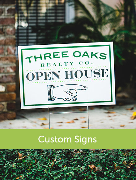 Signs Customized for your Business