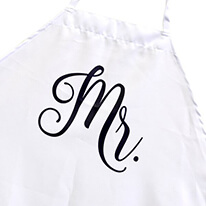 Newlywed Apron for Him