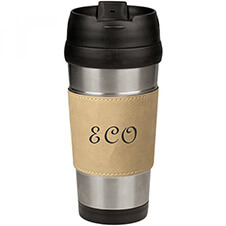 custom initials travel coffee mug