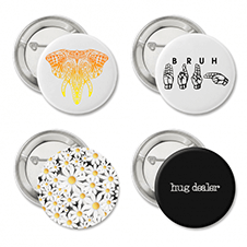 funny buttons gift set