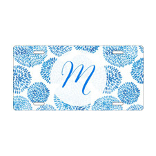 Monogram Front License Plate