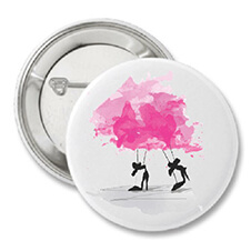 Pretty in Pink Button