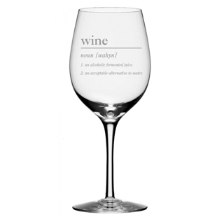 funny definition wine glass